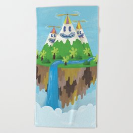 Flight of the Wild Beach Towel