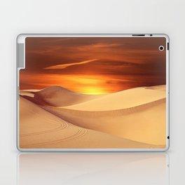 The Sunset On Desert Laptop & iPad Skin