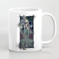 the walking dead Mugs featuring Walking Dead by kcspaghetti
