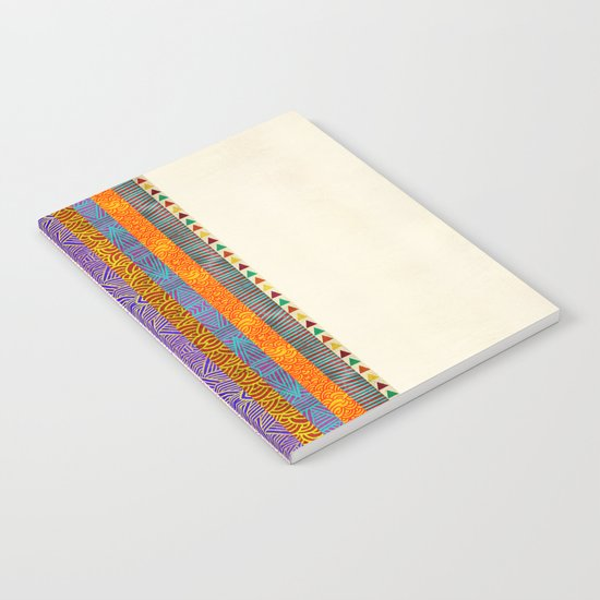 Tribal Stripes Notebook