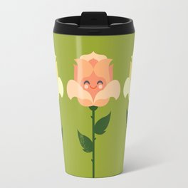 Kawaii Rose Friends Travel Mug