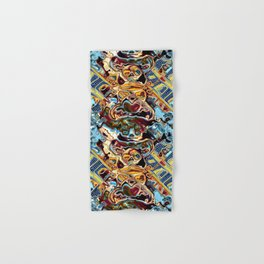 Chaotic Abstract Conglomeration Hand & Bath Towel