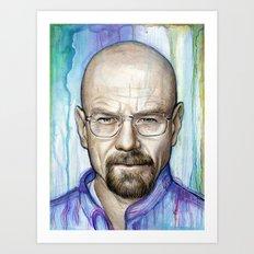 Walter White Portrait Art Print