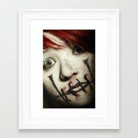 silent Framed Art Prints featuring Silent by Flashbax Twenty Three