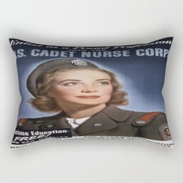 Vintage poster - U.S. Cadet Nurse Corps Rectangular Pillow