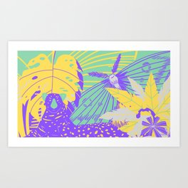 Jungle Fly >1< Art Print