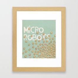 microrobo Framed Art Print