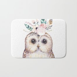 Forest Owl by Nature Magick Bath Mat