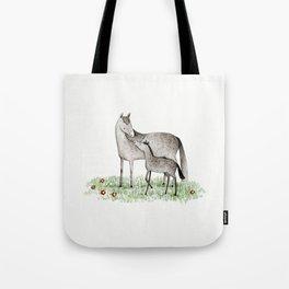 Mare & Foal Tote Bag