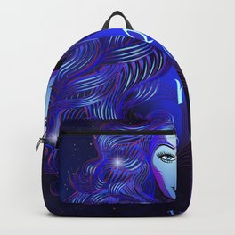 Zodiac neon signs — Virgo Backpack