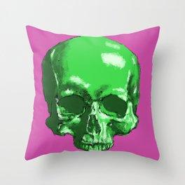 study - upper skull Throw Pillow