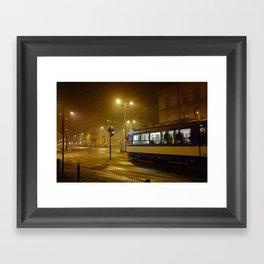 Night-time in Krakow 1 Framed Art Print
