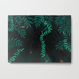 Rainforest at night Metal Print
