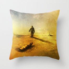 Explosive Ordnance Disposal Throw Pillow