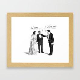 Tinder Isn't Your Friend Framed Art Print