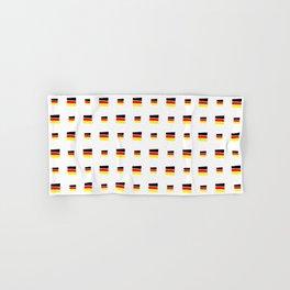 Flag of Germany 5 handmade Hand & Bath Towel