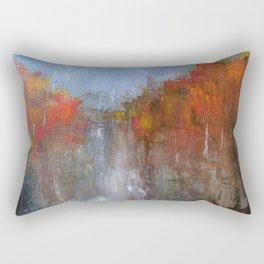 Fire Walk Rectangular Pillow