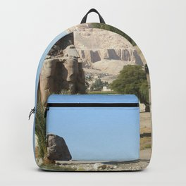 The Clossi of memnon at Luxor, Egypt, 2 Backpack