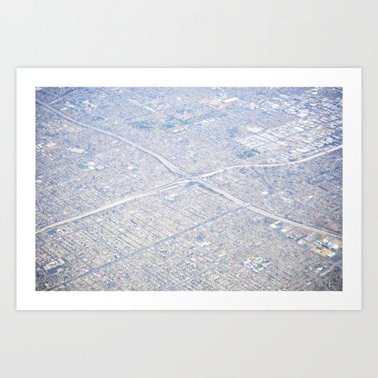 GEOgraphy III Art Print