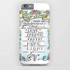 Prayer of St. Francis Slim Case iPhone 6s