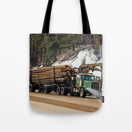 I Log In - I Log Out Tote Bag