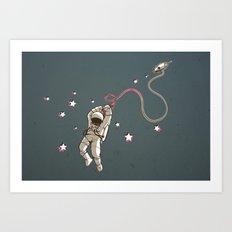 Hangstronaut Art Print