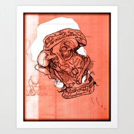 Eterna Belleza Art Print