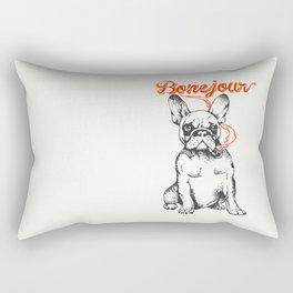 Bonejour Bulldog Rectangular Pillow