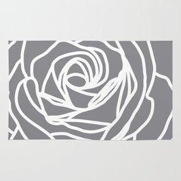 Slate Rose Rug