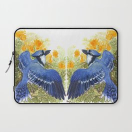 Blue Jay in the Cassia Thicket Laptop Sleeve