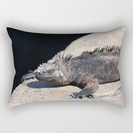As cool as an iguana Rectangular Pillow