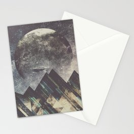 Sweet dreams mountain Stationery Cards