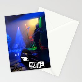 it's the MUSIC Stationery Cards