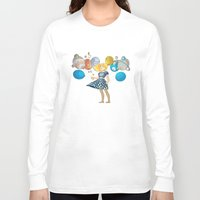 solar system Long Sleeve T-shirts featuring Solar System by Owlsoul
