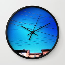 Skywires Wall Clock