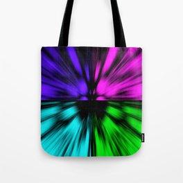 Warp Eye Tote Bag