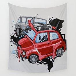 Carsharing Wall Tapestry