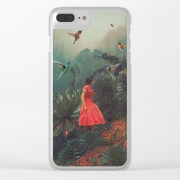 20 Seconds before the Rain Clear iPhone Case
