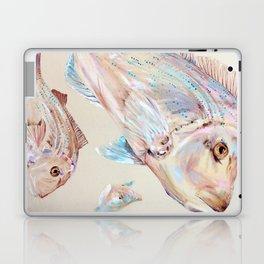Pink Snapper Fish Laptop & iPad Skin