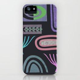 Dark bits iPhone Case