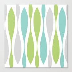 Colorwaves Spring Canvas Print
