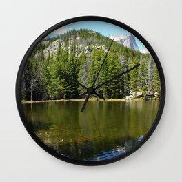 Nymph Lake Serenity Wall Clock