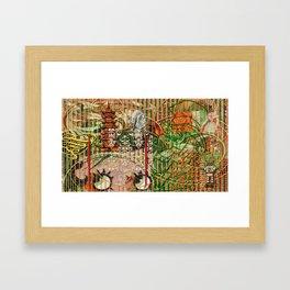 The Interlocking Mechanism of Compartmentalization Framed Art Print
