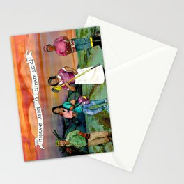 migrant justice is climate justice Stationery Cards