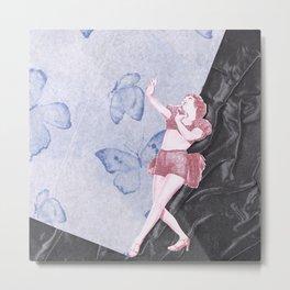 Butterfly Dancer Metal Print