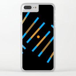 Spiraled Clear iPhone Case