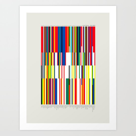 National Colors Art Print