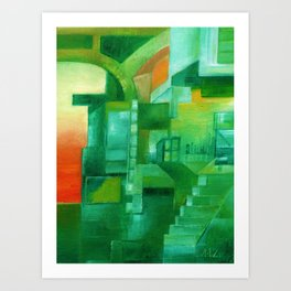 Different Kinds of Mornings Art Print