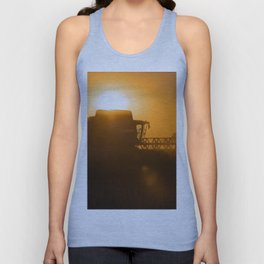 Midsummer time is harvest time of the cereal fields Unisex Tank Top