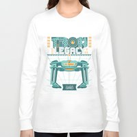 tron Long Sleeve T-shirts featuring Tron Legacy by HomePosters